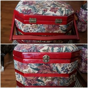 Tapestry sewing box/jewelry case